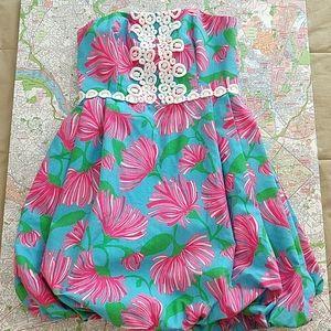 Lilly Pulitzer Vtg. Bubble Hem Dress